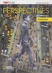 Perspectives Intermediate: Workbook with Audio CD - фото обкладинки книги