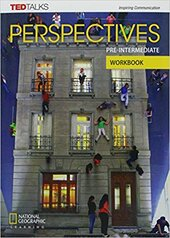 Perspectives Pre-intermediate: Workbook with Audio CD - фото обкладинки книги