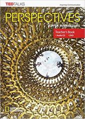 Perspectives Upper Intermediate: Teacher's Guide with MP3 Audio CD and DVD - фото обкладинки книги