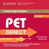 PET Direct Student's Pack (Student's Book with CD ROM and Workbook without answers) - фото обкладинки книги