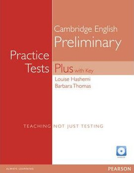 PET Practice Tests Plus 1 Students' Book +CD (підручник) - фото книги