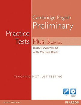PET Practice Tests Plus 3 Students' Book + CD (підручник) - фото книги