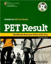 PET Result. Workbook with Key - фото обкладинки книги