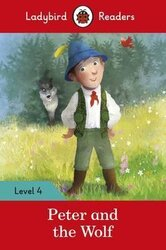 Peter and the Wolf - Ladybird Readers Level 4 - фото обкладинки книги