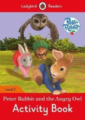 Peter Rabbit and the Angry Owl Activity Book - Ladybird Readers Level 2 - фото обкладинки книги