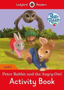 Peter Rabbit and the Angry Owl Activity Book - Ladybird Readers Level 2 - фото книги