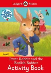 Peter Rabbit and the Radish Robber Activity Book - Ladybird Readers Level 1 - фото обкладинки книги