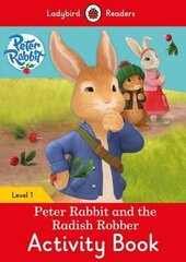 Peter Rabbit and the Radish Robber Activity Book - Ladybird Readers Level 1 - фото обкладинки книги