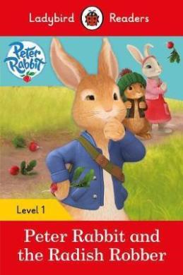 Peter Rabbit and the Radish Robber - Ladybird Readers Level 1 - фото книги