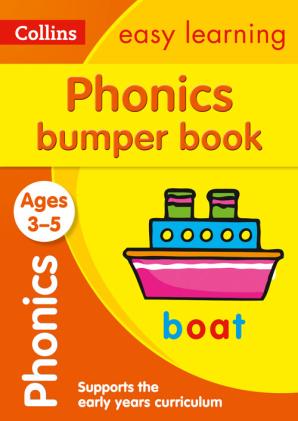 Посібник Phonics Bumper Book Ages 3-5
