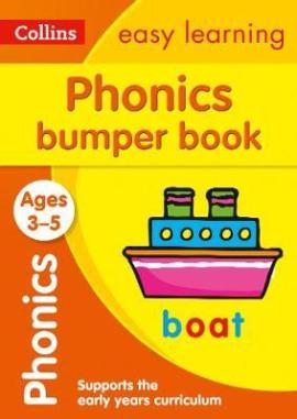 Phonics Bumper Book. Ages 3-5 - фото книги
