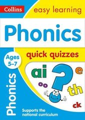 Phonics Quick Quizzes. Ages 5-7 - фото обкладинки книги
