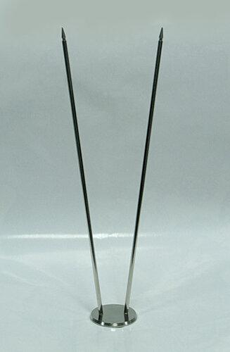 Підставка металева дворожкова