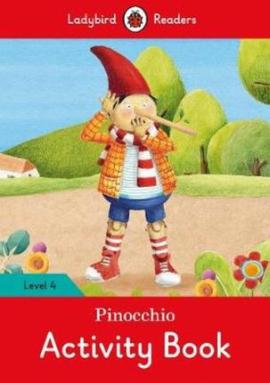 Pinocchio Activity Book - Ladybird Readers Level 4 - фото книги