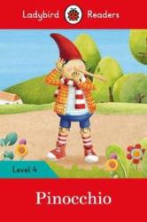Pinocchio - Ladybird Readers Level 4 - фото обкладинки книги