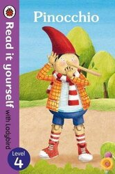 Pinocchio - Read it yourself with Ladybird: Level 4 - фото обкладинки книги