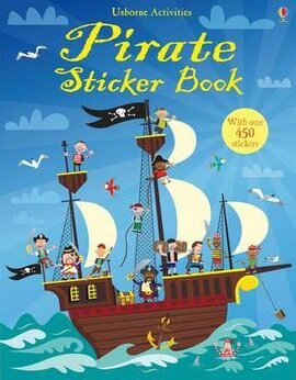 Pirate. Sticker Book - фото книги