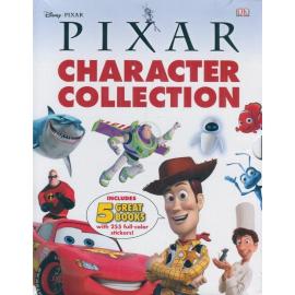 Pixar Character Encylopedia & 4 Sticker Books Slipcase, Btms Special - фото книги
