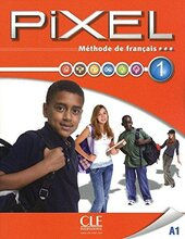 Pixel 1. Livre de L'eleve + DVD-Rom - фото обкладинки книги