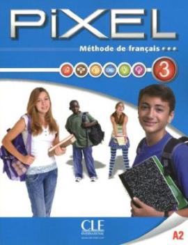Pixel 3. Livre de L'eleve + DVD-Rom - фото книги