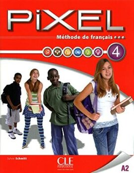 Pixel 4. Livre de L'eleve + DVD-Rom - фото книги