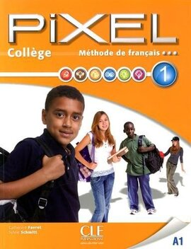 Pixel College 1. Eleve + Cahier D'exercices + DVD-Rom - фото книги