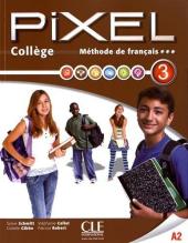Pixel College 3. Eleve + Cahier D'exercices + DVD-Rom - фото обкладинки книги