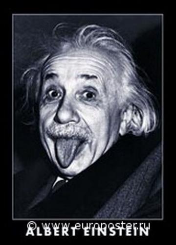 """Плакат """"Albert Einstein (PF2080)"""""""