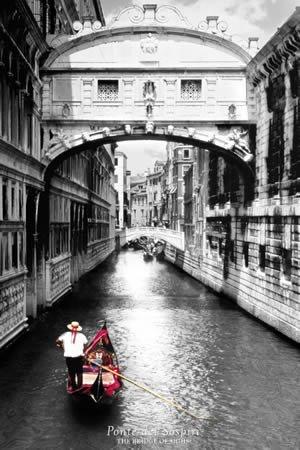 "Плакат ""Bridge of Sighs (PH0331)"""