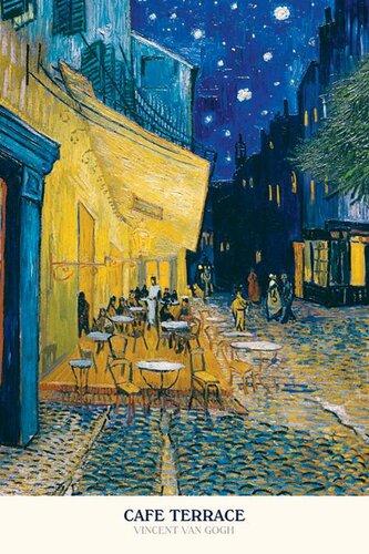 "Плакат ""Cafe terrace (PP30154)"""