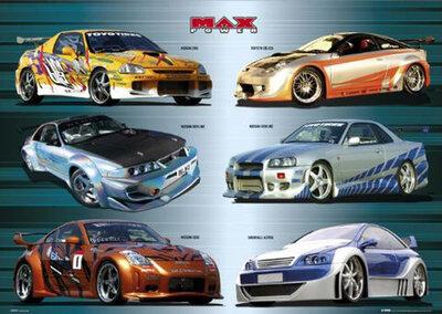 """Плакат """"Cars (GN0199)"""""""