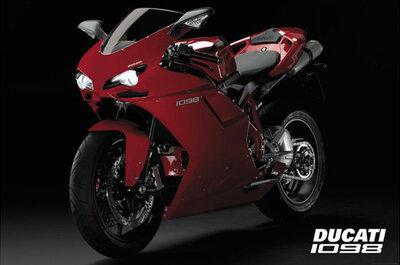 "Плакат ""Ducati 1098 (PP31443)"""