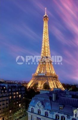 """Плакат """"Eiffel Tower At Dusk (PP30966)"""""""