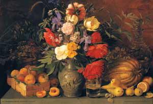 "Плакат ""Flowers and fruits (EU0019)"""