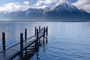 "Плакат ""Lake Geneva (EU0026)"""