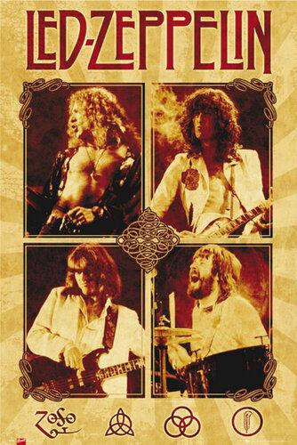 "Плакат ""Led Zeppelin (LP1181)"""