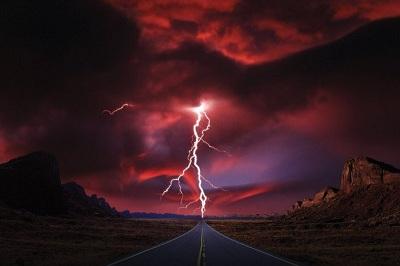 """Плакат """"Lightning Highway (PP30969)"""""""