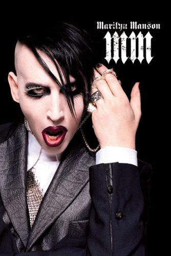"""Плакат """"Marilyn Manson (PP30508)"""""""