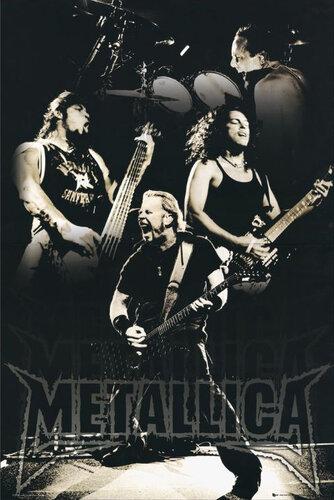 "Плакат ""Metallica (LP1200)"""