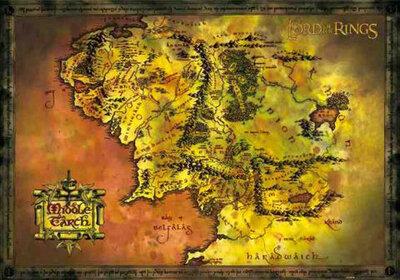 "Плакат ""Middle Earth Map (FP1262)"""