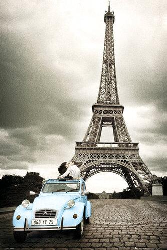 "Плакат ""Paris. Romance (PH0329)"""