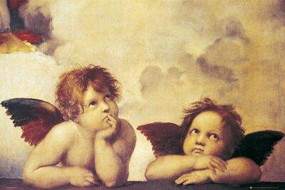"Плакат ""Rafael Santi Angels (GN0314)"""