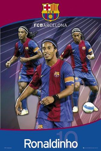 "Плакат ""Ronaldinho (SP0418)"""