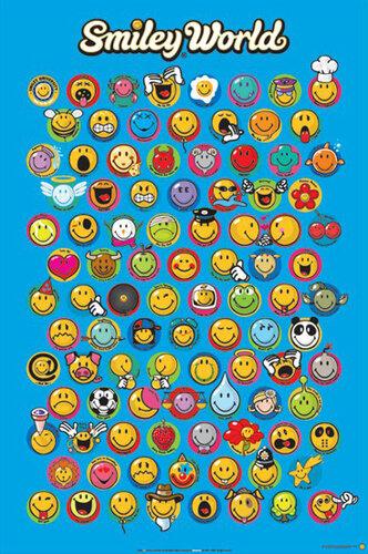 "Плакат ""Smiley World (PP30924"""