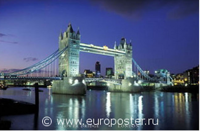 "Плакат ""Tower Bridge (PP30568)"""