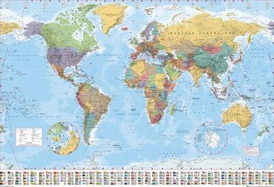 "Плакат ""World Map (GN0214)"""