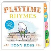 Playtime Rhymes (My Favourite Nursery Rhymes Board Book) - фото обкладинки книги