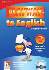 Playway to English 2nd Edition 2. Teacher's Resource Pack with Audio CD - фото обкладинки книги