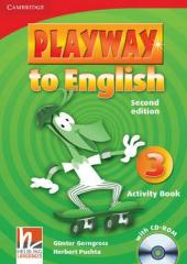 Playway to English 2nd Edition 3. Activity Book with CD-ROM - фото обкладинки книги