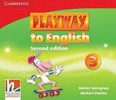 Playway to English 2nd Edition 3. Class Audio CDs (набір із 3 аудіодисків) - фото обкладинки книги